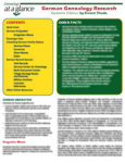 Genealogy at a Glance: German Genealogy Research. Updated Edition