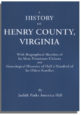 A History of Henry County, Virginia
