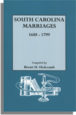South Carolina Marriages, 1688-1799