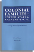 Colonial Families of the United States of America, Volume VII