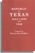 Republic of Texas Poll Lists for 1846