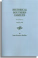 Historical Southern Families. Volume VII