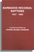 Barbados Records, Baptisms, 1637-1800