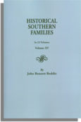 Historical Southern Families. Volume XV
