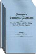 Genealogies of Virginia Families from the William and Mary College Quarterly. [5 vols.]