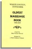 White County, Tennessee Oldest Marriage Book, 1809-1859