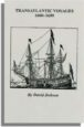 Transatlantic Voyages, 1600-1699. Second Edition