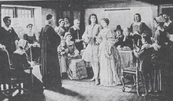 New England Marriages 1700s